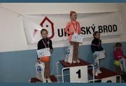Terezka Uhířová a 2. místo v Uherském Brodu