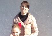 Míša Heřmanová s trenérkou
