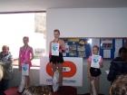 Vítězná Káťa Kubištová, na 3. místě Markétka Rejmanová