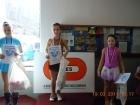 Vítězná Nikolka Rychtaříková, na 3. místě Vendy Hooper